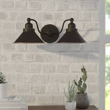 Bronze Wall Sconce Bronze Sconces You U0027ll Love Wayfair