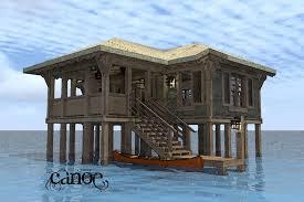 Beach Cabin Plans Cabin Plan 588 Square Feet 1 Bedroom 1 Bathroom 5633 00125