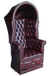 chesterfield porter u0027s chair antique oxblood uk manufactured
