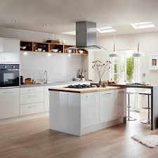 grey kitchen cabinets b q bq kitchen doors door inspiration for your home