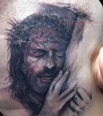 15 inspiring jesus tattoos designs on neck forearm back