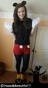 Halloween Costumes Mickey Minnie Mouse Diy Mickey Mouse Costume Disfraces Costumes