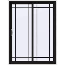 Jeld Wen French Patio Doors With Blinds 60 X 80 Jeld Wen Patio Doors Exterior Doors The Home Depot