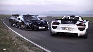 Mclaren P1 And Porsche 918 Spyder W Weissach Package Sssupersports