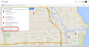 Chicago Google Map by How To Make Your Nail Salon Website Appear On Google