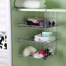 Hanging Baskets For Bathroom Storage 33 Bathroom Storage Hacks And Ideas That Will Enlarge Your Room