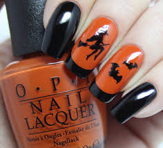 easy halloween nail art designs that are totally instagram worthy