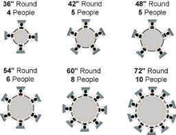 what size tablecloth for 48 round table chair and table setup guide bright settings table linens good
