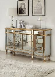 home design fascinating gold mirrored furniture venetian aged