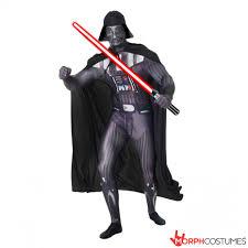 star wars darth vader morphsuit morph costumes uk