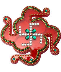 creative home decor swastik shape acrylic kankavati buy creative