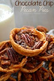 mini chocolate chip pecan pies the domestic rebel