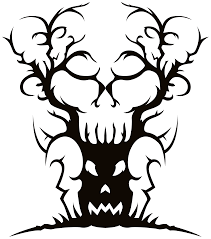scary tree clip art u2013 clipart free download