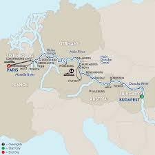 River Map Of Europe by Danube River Cruise Avalon Waterways
