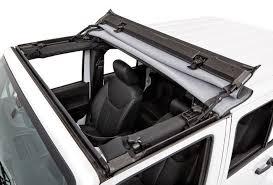 jeep soft top open 2007 2018 jeep wrangler bestop sunrider soft top bestop 52450 17