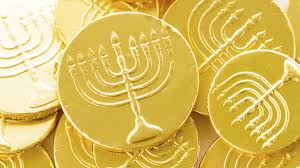 hanukkah chocolate coins hanukkah history those chocolate coins were once real tips the