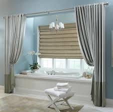 curtain ideas for bathrooms bathroom valance ideas