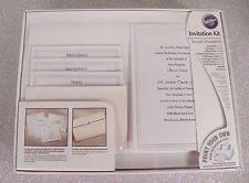 diy wedding invitation kits wedding invitation kit ebay