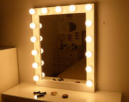 Vanity Mirror With Lights For Bedroom Vanity Mirror With Lights Makeup Mirror Wall Hanging Or