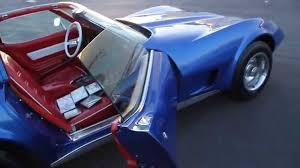 Custom Corvette Interior 1977 Corvette Custom C3 Youtube