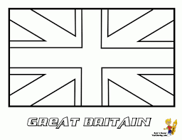 London Flag England Flag Coloring Page 481106