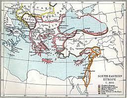 Maps Of Eastern Europe by South Eastern Europe Map 1105 A D Full Size
