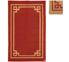 Qvc Outdoor Rugs Boxwood 5 U0027x8 U0027 Reversible Outdoor Mat By Patiomats Page 1 U2014 Qvc Com