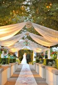 Wedding Pew Decorations Tulle Decorations Wedding Decoration Ideas Round Tables And White