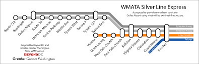 Silver Line Boston Map by Washington Dc Silver Line Map Washington Dc Map Wmata Fantasy