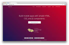themes for mobile apps prototype mobile apps easily with ratchet