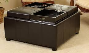 ottoman with storage and tray awesome black storage ottoman with tray 67 for your interior