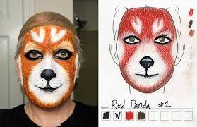 panda halloween makeup panda hero makeup tutorial mugeek vidalondon