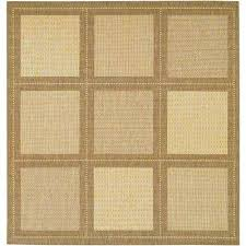 Couristan Outdoor Rugs Square Solid Gradient Outdoor Rugs Rugs The Home Depot