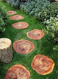 of cool wooden garden paths 6