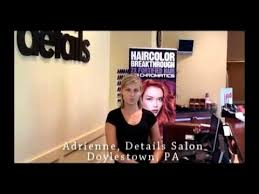 testimonial adrienne details salon in doylestown pa youtube