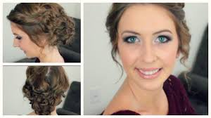 Easy Updo Hairstyles Step By Step by Easy Curly Updo For Any Length U0026 Style Of Hair