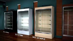 trophy display cabinets retail trophy wall display cases avi youtube