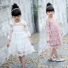 fancy casual 2 7years lace dress fancy princess casual dresses
