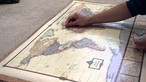 World Map Push Pin Board by Diy Pin Your Travel Map Youtube