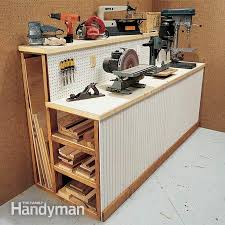 Ideas For Workbench With Drawers Design Best Modern Work Bench Storage Home Designs Garage Workbench Ideas
