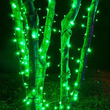 green outdoor led string lights 50 ct 5mm yard envy