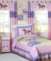 Kid Bedspreads And Comforters Girls Horse Bedding Cowgirl U0026 Pony Bedding Sets