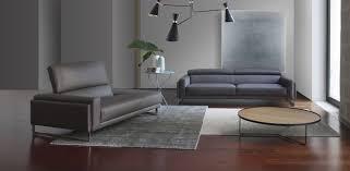 calia italia canapé en cuir canapé contemporain en cuir 3 places marron otello 1013