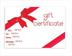 powerpoint gift certificate template free powerpoint award