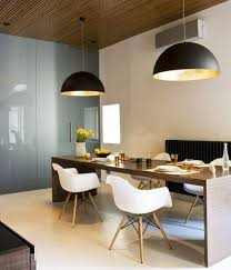 modern dining pendant light lighting design ideas luxury modern dining room with large round