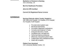 Telemetry Nurse Resume Sample by Rn Msn Resume Reentrycorps