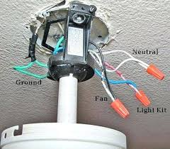 Wiring A Ceiling Light Fixture How To Install Ceiling Light Fixture Just Make Sure The New