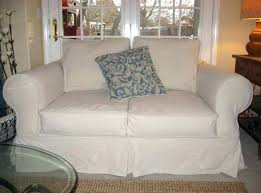 sure fit denim sofa slipcover new denim slipcovers for sofas alithynne com