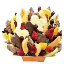 fruit bouque gathering fruit bouquet sweet things bakery