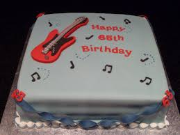 guitar 65th birthday cake u2026 birthday pinterest 65th birthday
